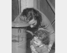1955 Alger avec Maman