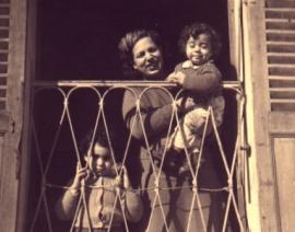 1955 Alger avec Maman et Annie