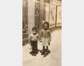 1957 Alger avec Annie