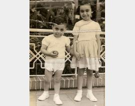 1958 Alger avec Annie