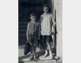 1960 Alger avec Annie