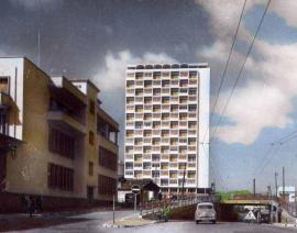 1961 Alger, Immeuble Pernod